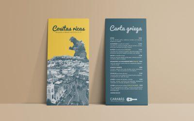 Diseño de cartas para hostelería