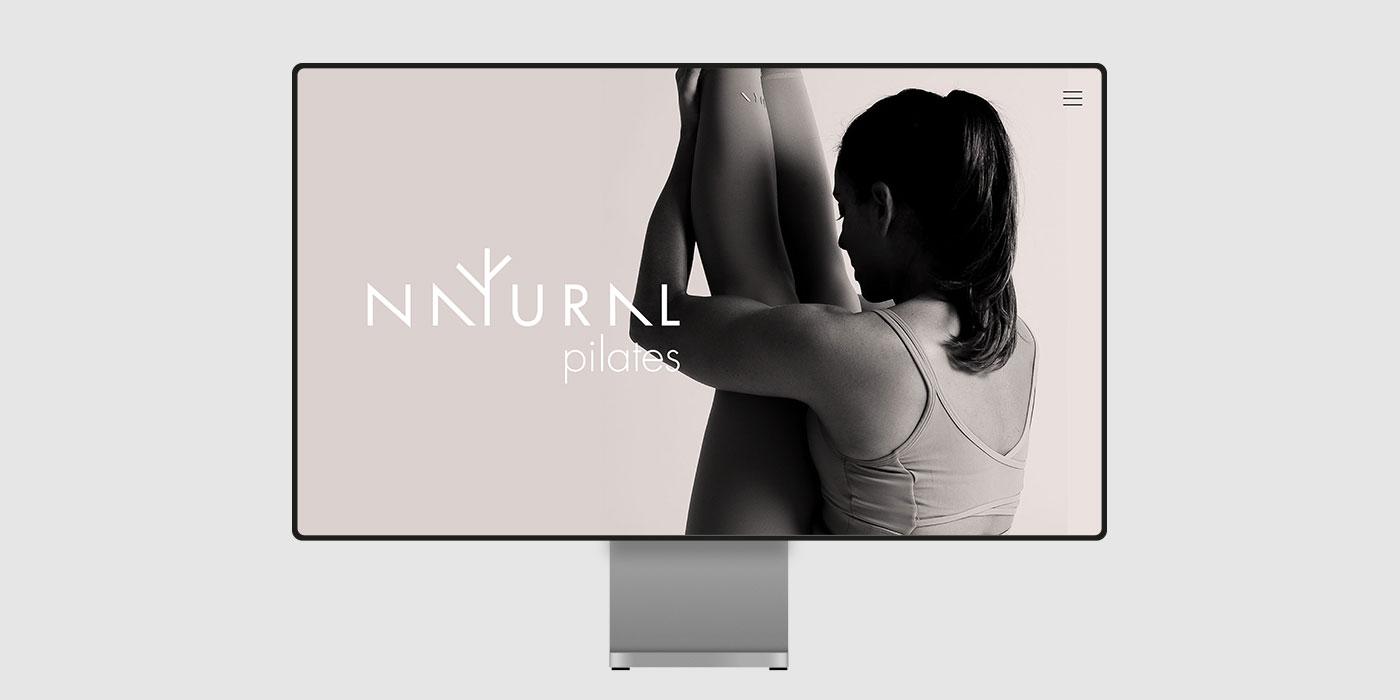 natural pilates pagina web. diseño de paginas web